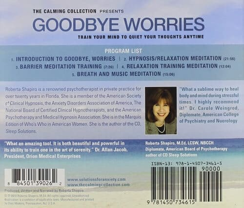 Goodbye Worries by Roberta Shapiro 2